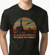 3.6 Roentgen nicht großartig, nicht schrecklich Chernobyl Nuclear Power Station Quote Vintage T-Shirt
