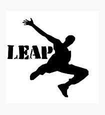 Leap Photographic Print