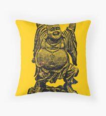 Happy Buddha | Starry Night Throw Pillow