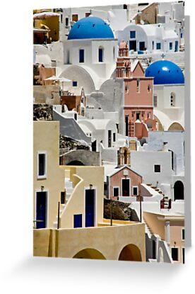 Santorini Morning by phil decocco