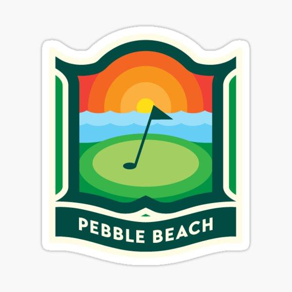 175. Pebble Beach, CA 2 Sticker