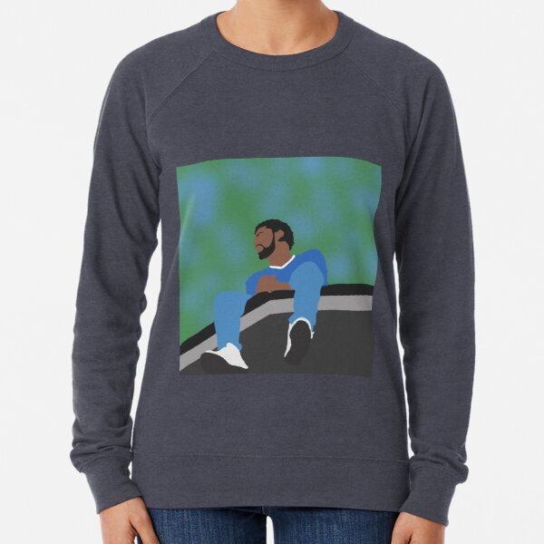 J. Cole Minimalist Album Cover Lightweight Sweatshirt