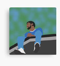 J. Cole Minimalist Album Cover Canvas Print