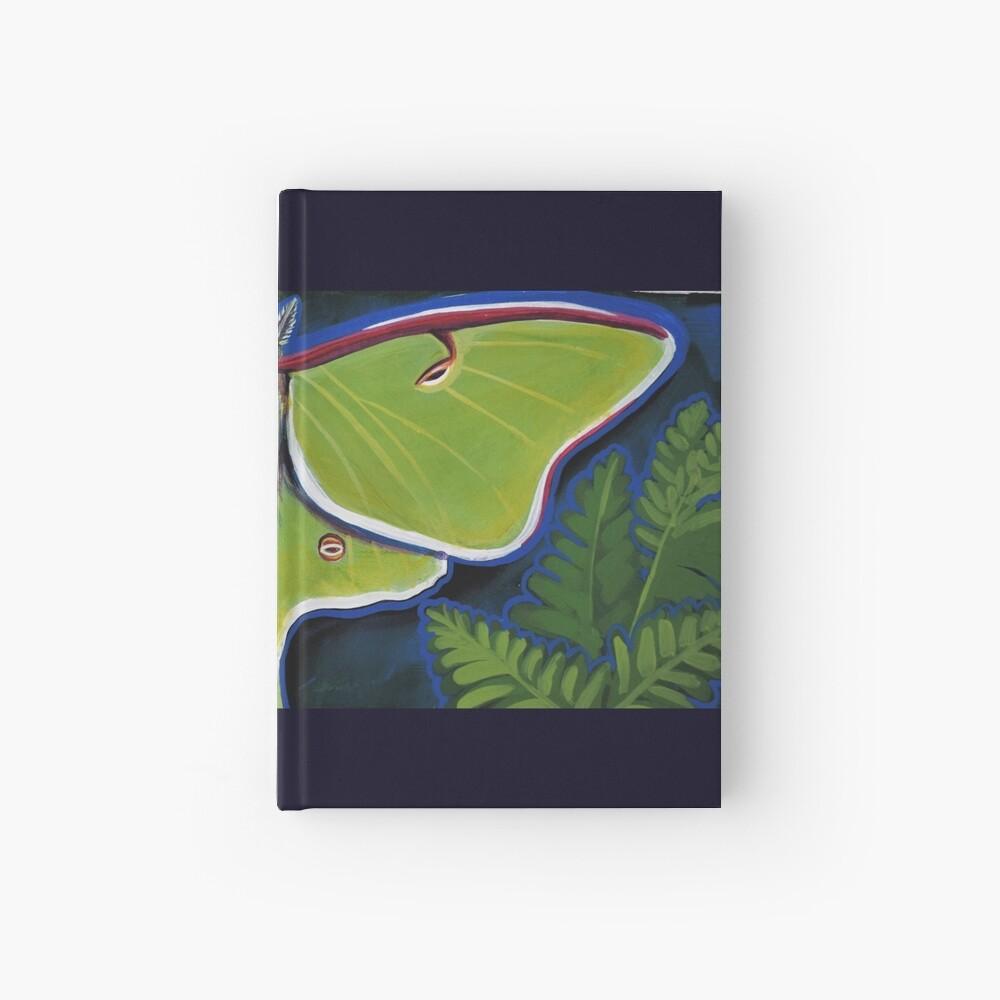 Luna Moth Hardcover Journal
