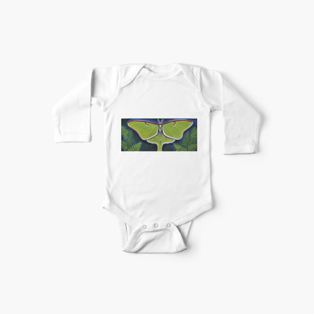 Luna Moth Baby One-Piece