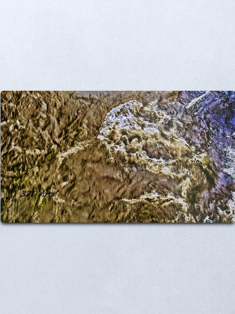Alternate view of Roaring Fork River Run-Off No.2 Metal Print