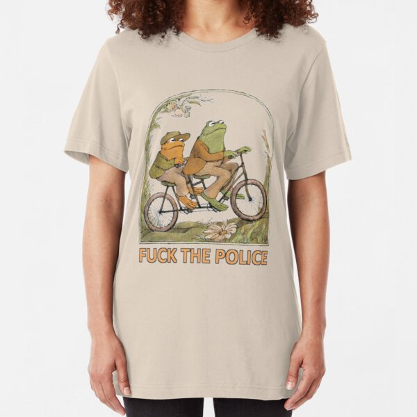 Frog and Toad - F*CK THE POLICE Slim Fit T-Shirt