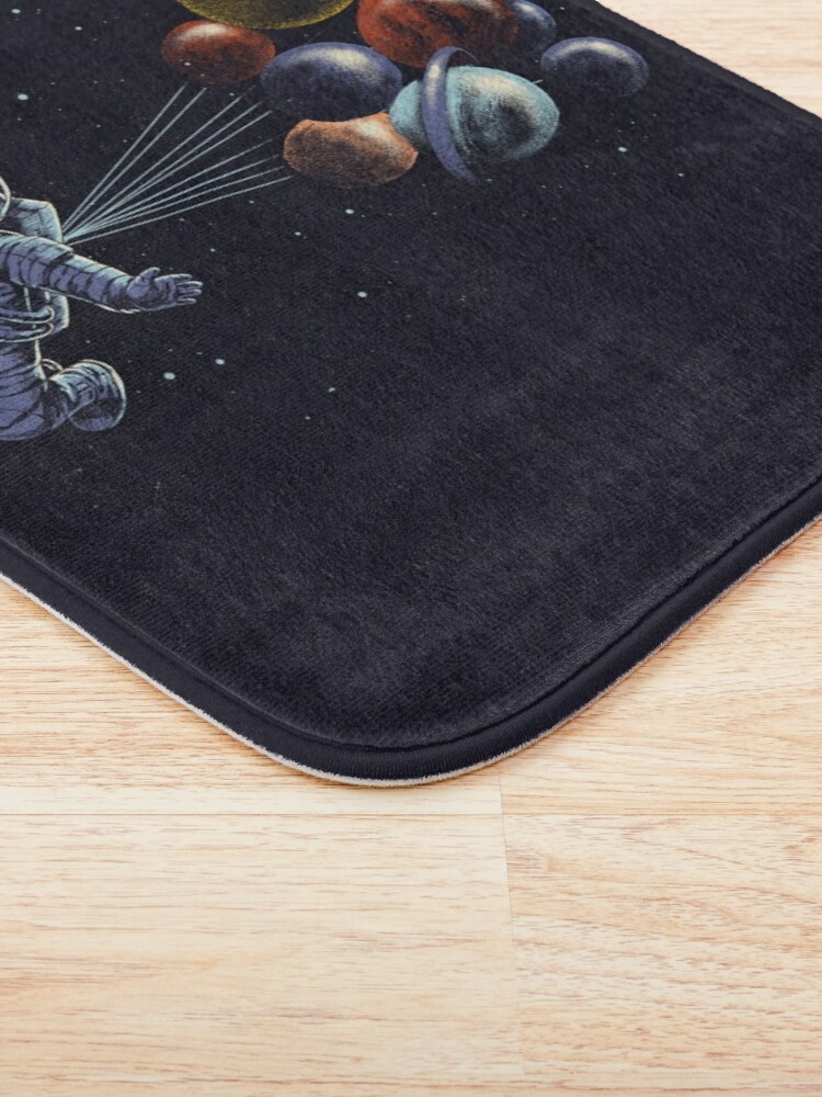 Alternate view of Space Travel Bath Mat