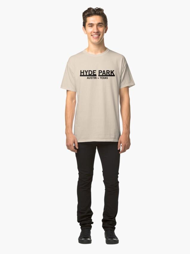 Alternate view of Hyde Park - Austin, Texas Classic T-Shirt