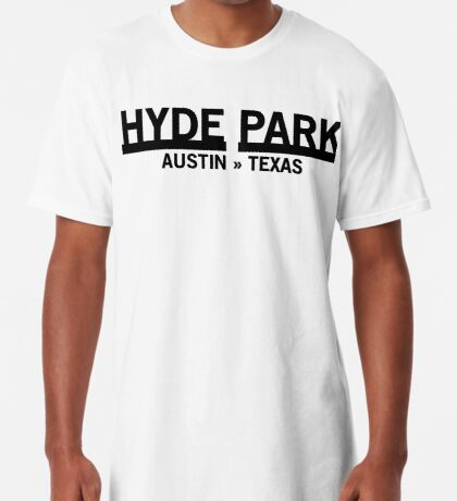 Hyde Park - Austin, Texas Long T-Shirt
