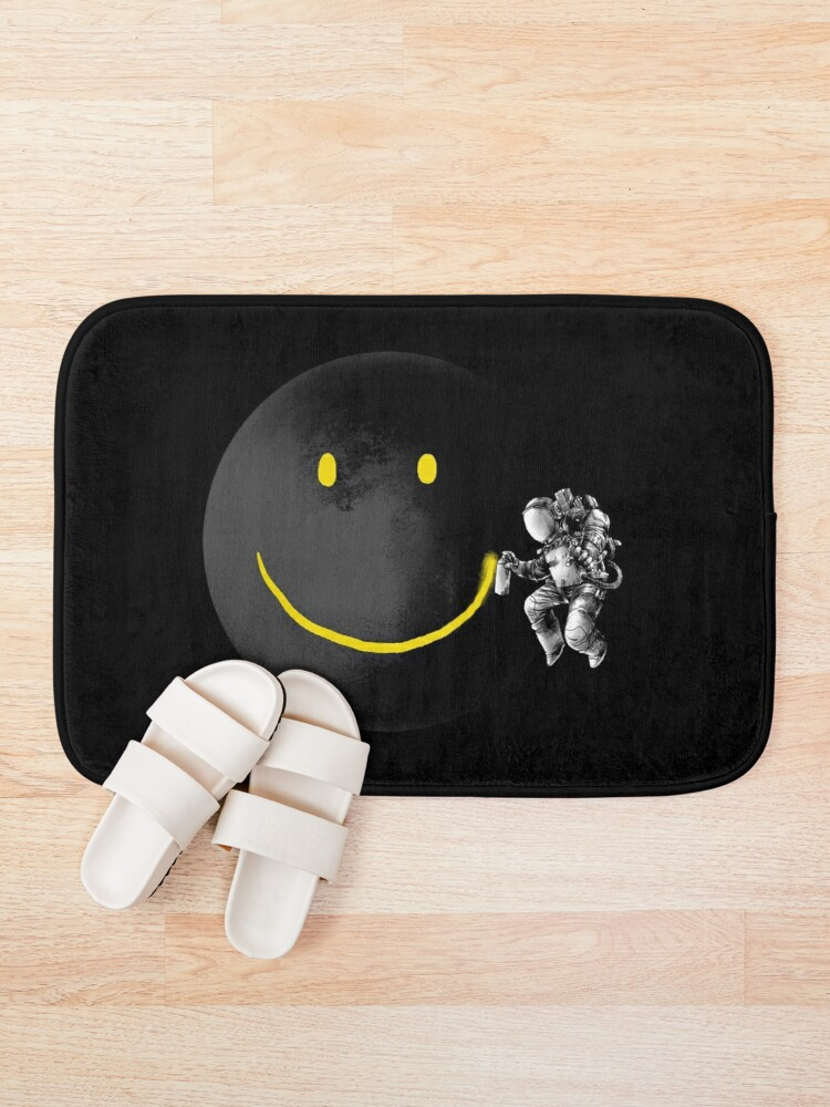 Alternate view of Make a Smile Bath Mat