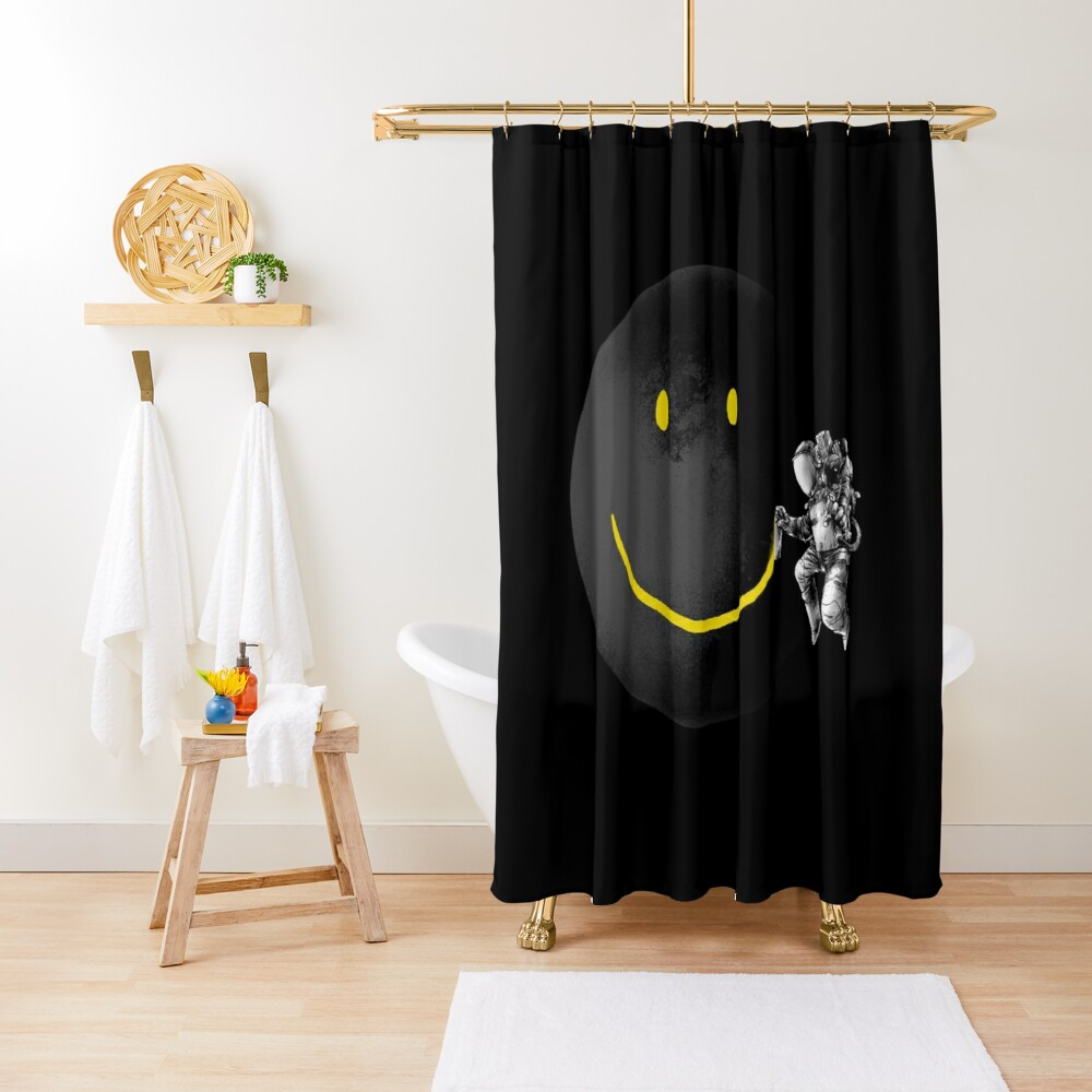 Make a Smile Shower Curtain