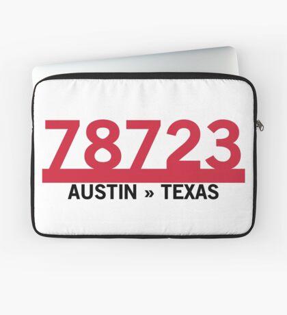 78723 - Austin, Texas ZIP Code Laptop Sleeve