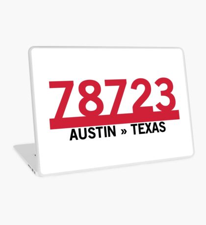 78723 - Austin, Texas ZIP Code Laptop Skin