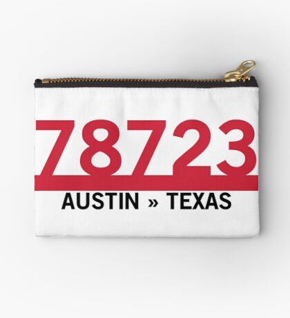 78723 - Austin, Texas ZIP Code Zipper Pouch