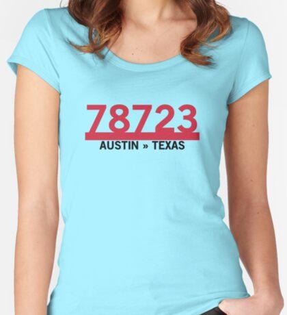 78723 - Austin, Texas ZIP Code Fitted Scoop T-Shirt
