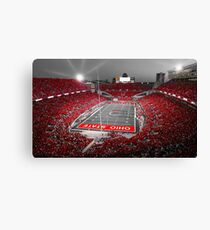 """A Scarlet Stage"" Ohio State Buckeyes Prints, Cards, More Canvas Print"