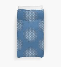 Tight Cluster Galaxy Flower of Life | Sacred Geometry Duvet Cover