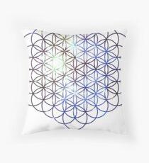 Kid Cudi Galaxy [Blue] | Eye of Ra [Eye of Horus] Throw Pillow