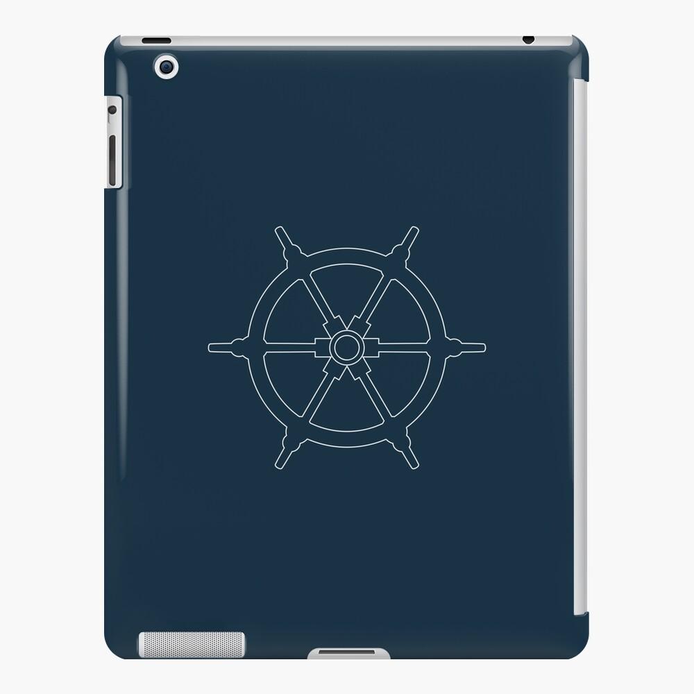 Ships Wheel iPad Case & Skin
