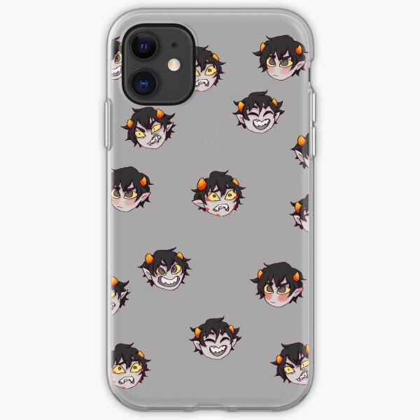 Karkat emotions iPhone Soft Case