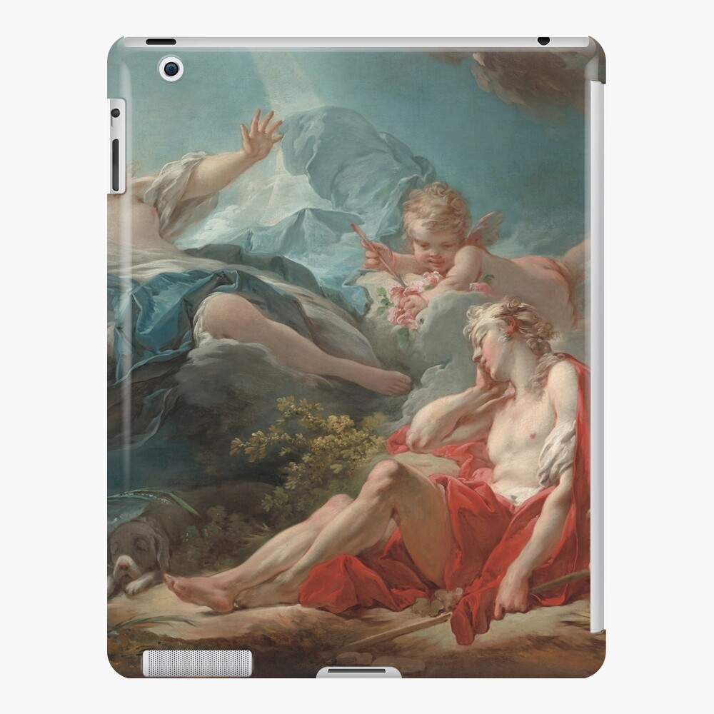 Diana and Endymion Oil Painting by Jean-Honoré Fragonard iPad Case & Skin