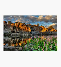 Willow Cove Reflect 1 Photographic Print