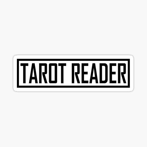 Tarot Reader  Sticker