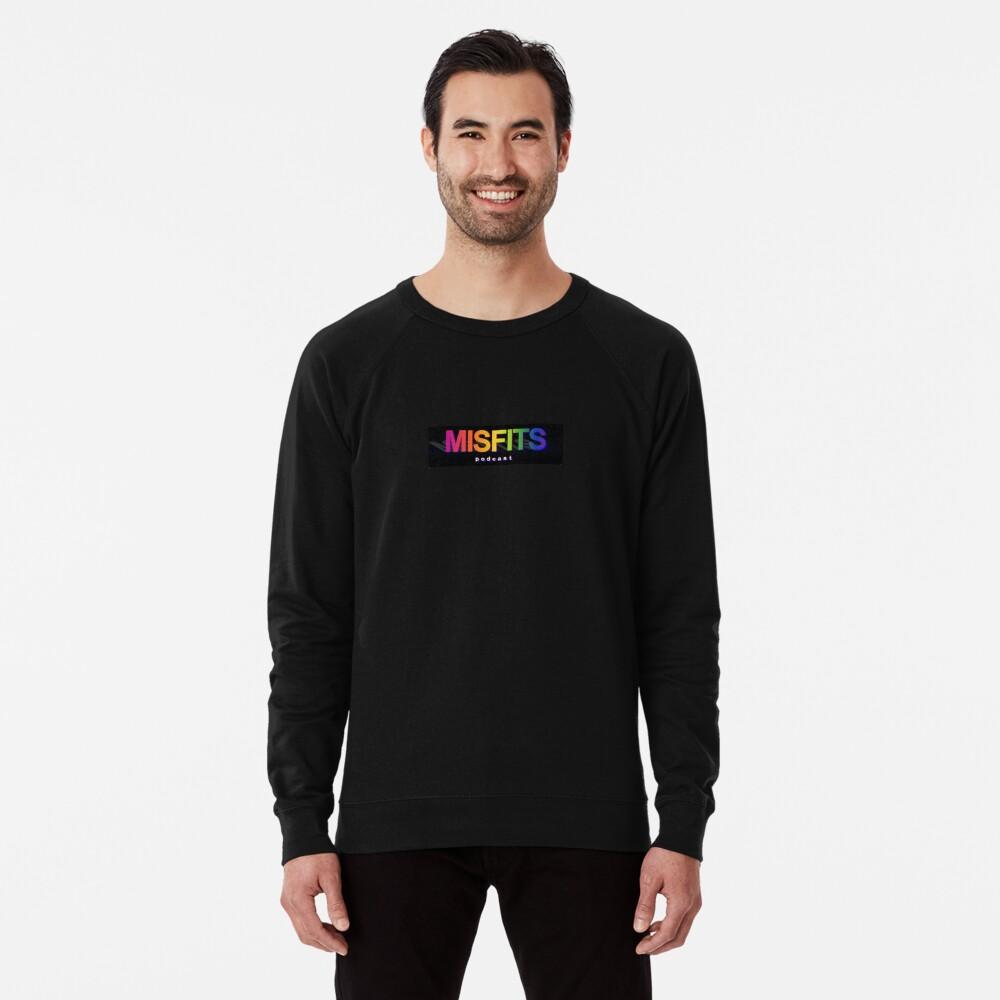 Misfits Podcast Logo Lightweight Sweatshirt