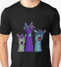 3 Alpakas Slim Fit T-Shirt