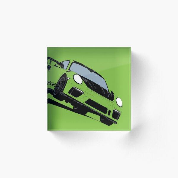 GT3 RS Acrylic Block