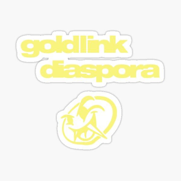 Goldlink Diaspora  Sticker