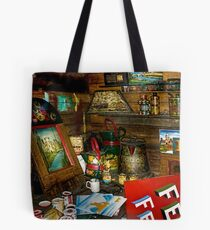 Boatyard Paintshop Tote Bag