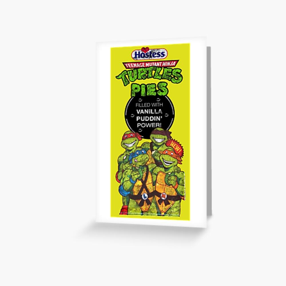 Tortas Ninja Tortugas Tarjetas de felicitación