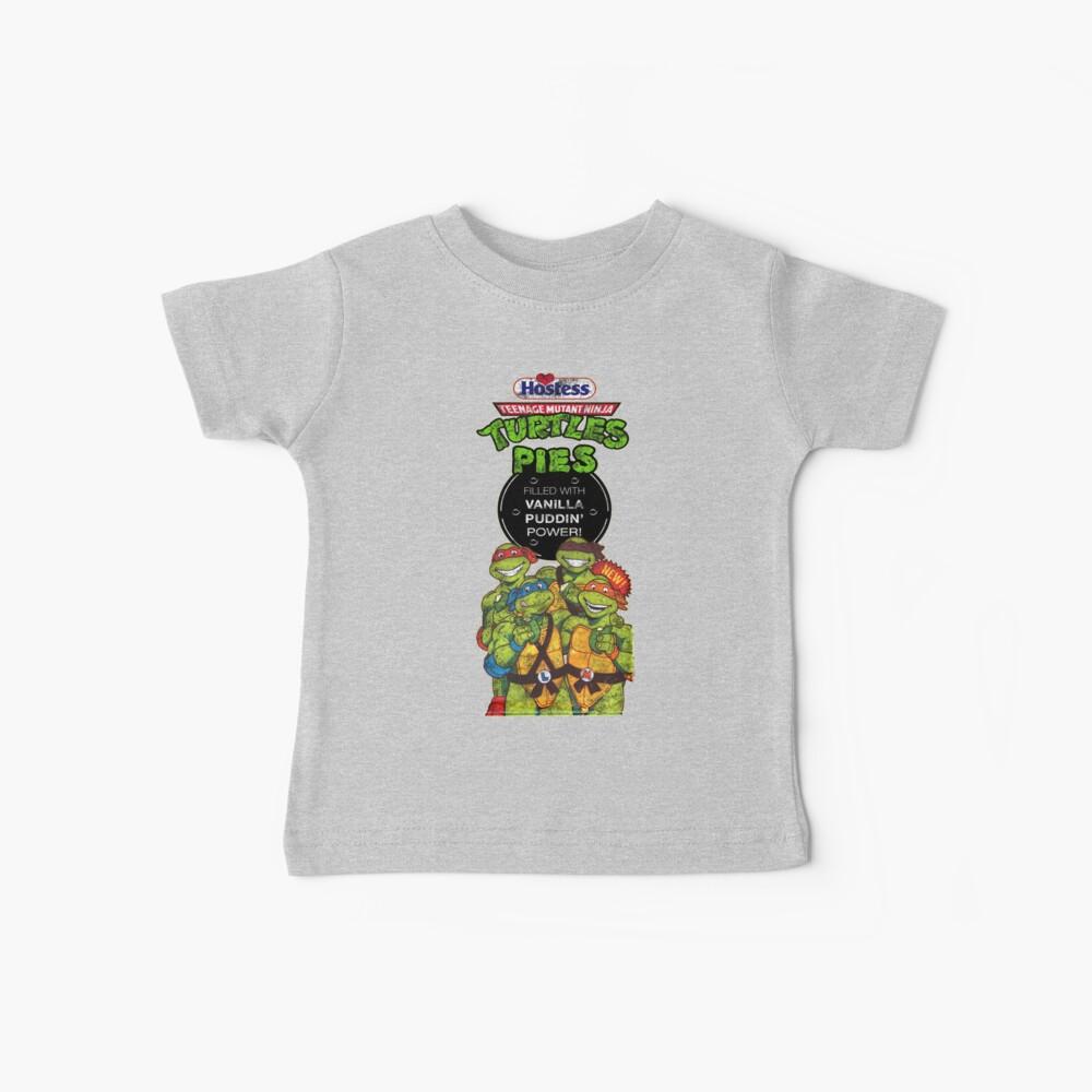 Tortas Ninja Tortugas Camiseta para bebés