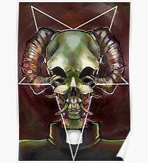 Satanic Chivo Poster