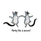 Party like a possum! Raising funds for Wildcare Australia Inc. by Paula Peeters