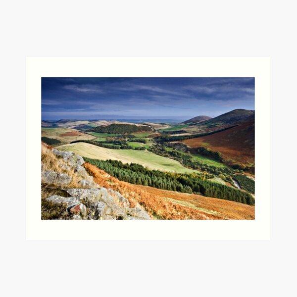 The College Valley, Northumberland. UK Art Print