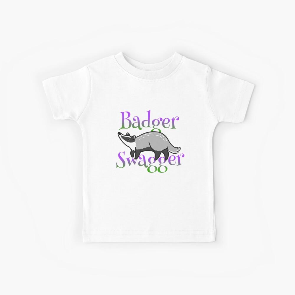 f0ec0811d83fa Lavender Badgers | Kids T-Shirt