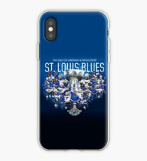 Blues Hoisting Cup, St. Louis. Eishockey iPhone-Hülle & Cover