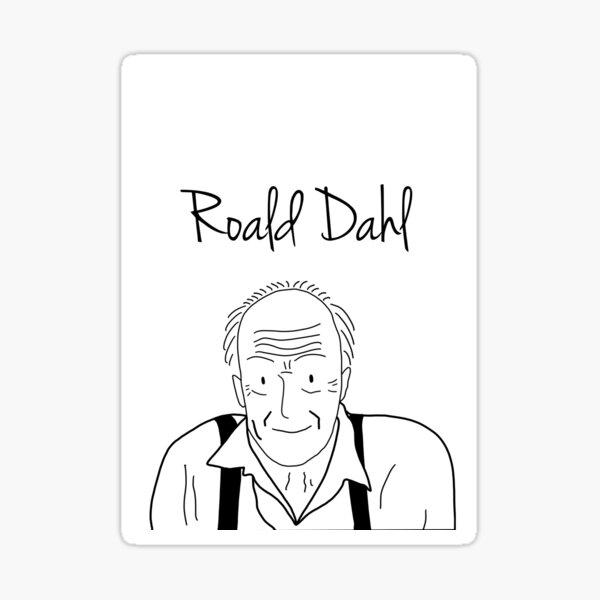 Roald Dahl Writer serie Sticker
