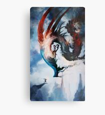 The Storm Queen Metal Print