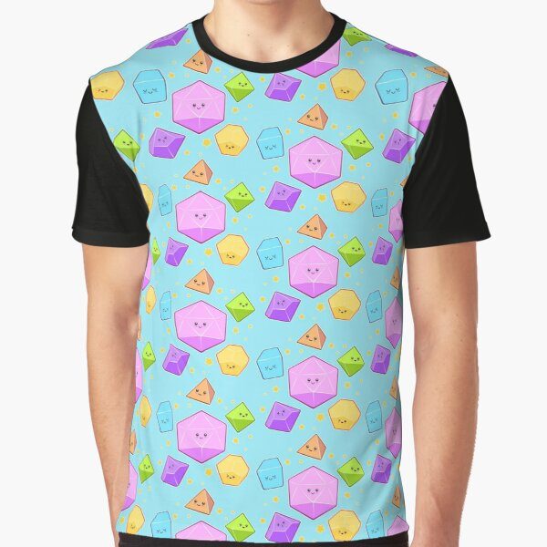 Rollin with my crew | DnD | Kawaii Graphic T-Shirt