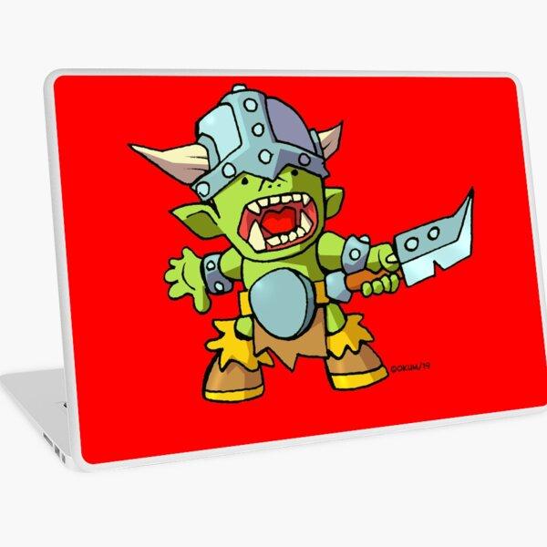 Adorkable Orc Laptop Skin