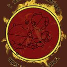 """""""I see fire inside the mountain"""" in Gallifreyan by reddesilets"""
