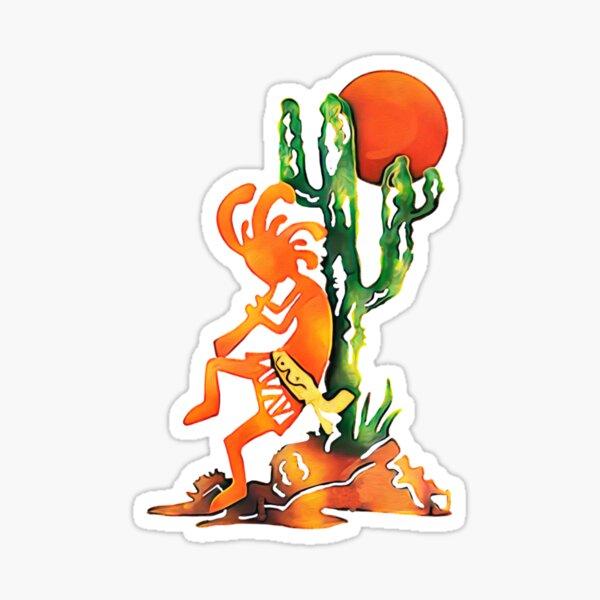 kokopelli Art Sticker