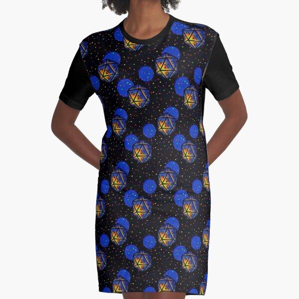 D20 Arcade Carpet Graphic T-Shirt Dress