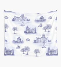 Downton Abbey Toile Wall Tapestry
