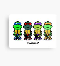 TMNT (Stickers) Metal Print