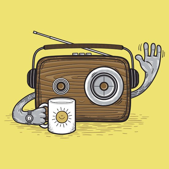 TShirtGifter presents: Radio Waves Good Morning